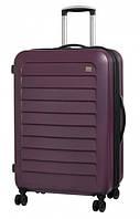 Чемодан дорожный Members Chevron (M) Purple 925891, на 4-х колесах, на 94л