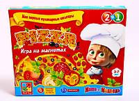 Игра на магнитах Пицца (Маша и медведь) Vladi Toys (VT1504-21)