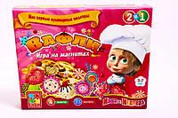 Игры на магнитах ВАФЛИ (Маша и медведь) VT1504-19