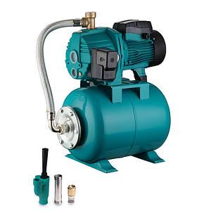 Станция водоснабжения с внешним эжектором 0.75кВт HSmax 35м Hmax 50м Qmax 30л/мин (внеш эжектор Ø96мм) 24л LEO 3.0 (776238)