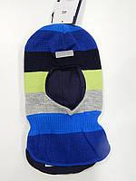 """Детская зимняя шапка -  шлем для мальчика (H-01),  ТМ""""JOIKS"""""""