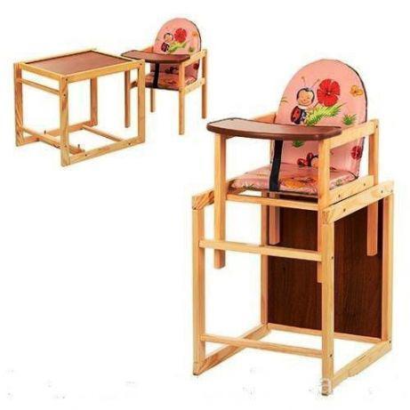 Детский стульчик трансформер для кормления Наталка