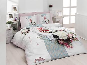 Комплект постельного белья букет цветов First Choice 3D Satin Digital Series Amara