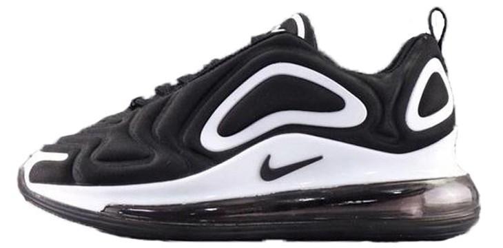 d39a88ad4335 Мужские кроссовки Nike Air Max 720 Black White (найк аир макс 720, черные