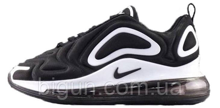 87da750f Мужские кроссовки Nike Air Max 720 Black White (найк аир макс 720, черные/