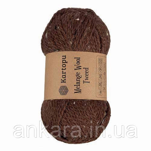 Пряжа Kartopu Melange Wool Tweed M1370
