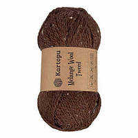 Пряжа Kartopu Melange Wool Tweed M1370