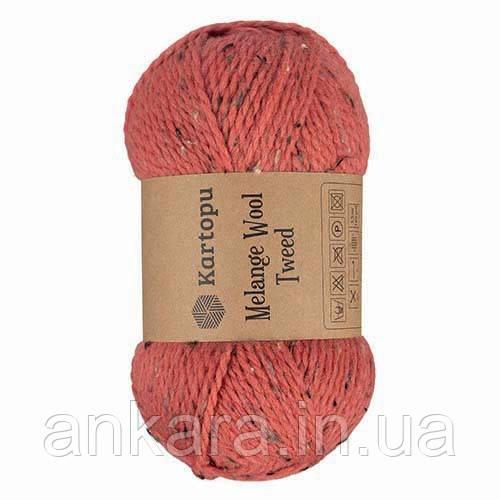 Пряжа Kartopu Melange Wool Tweed M1373