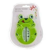 Термометр «лягушка» для воды и воздуха (пластиковый блистер)