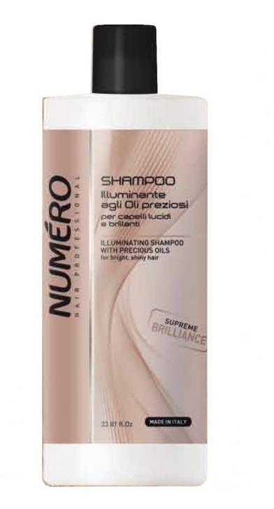 Шампунь для придания блеска с ценными маслами Brelil Professional Numero Supreme Brilliance Shampoo