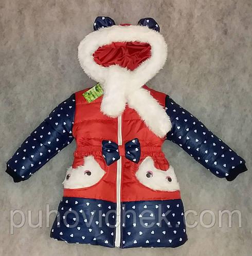 Красивые зимние курточки для девочек