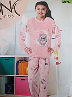 Утепленные пижамы для девочек оптом.