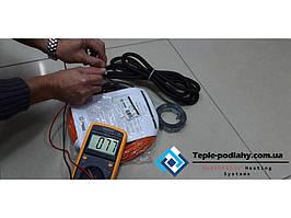 Тонкий нагрівальний кабель тепла підлога двожильний Fenix ADSV 1.4 м.кв