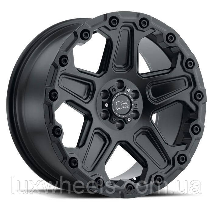 BLACK RHINO Cog MATTE BLACK