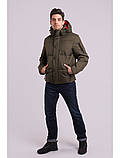 Зимняя мужская куртка короткая, фото 2