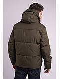 Зимняя мужская куртка короткая, фото 3