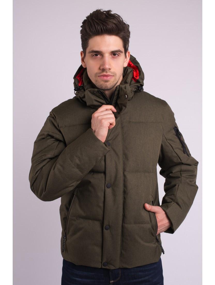 Зимняя мужская куртка короткая