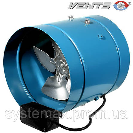 ВЕНТС ВКОМ 200 (VENTS VKOM 200) - осевой канальный вентилятор , фото 2