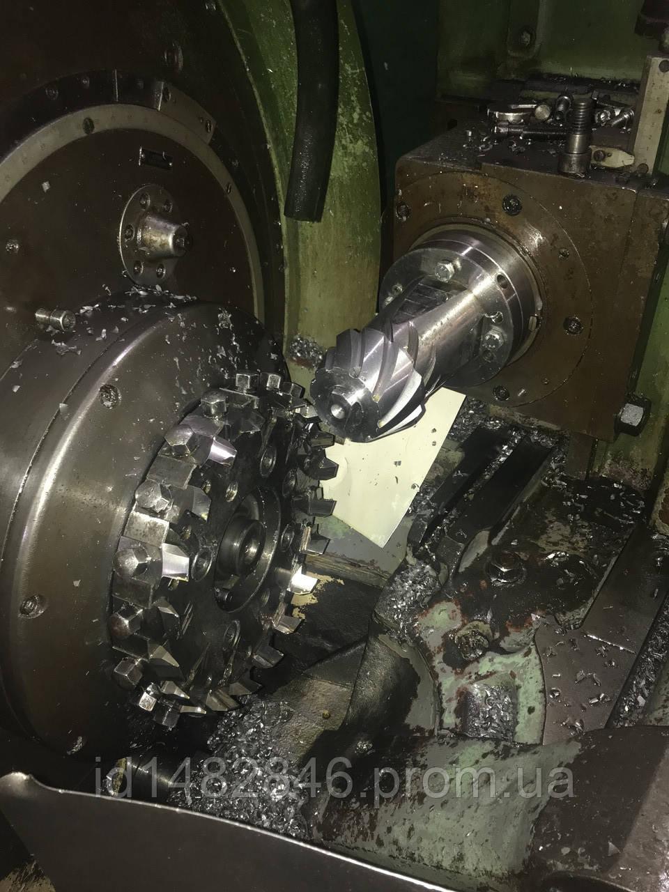 Станок 525 для нарезания спиральных конических колёс кругового зуба