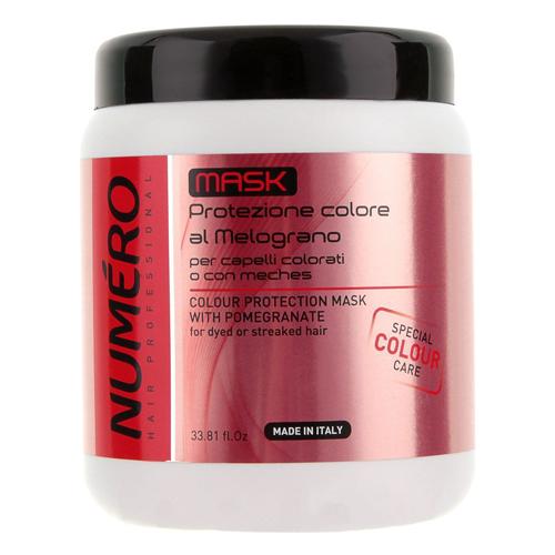 Маска для защиты цвета волос с экстрактом граната Brelil Numero Special Colour Care Mask