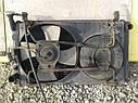 Радиатор охлаждения двигателя (в сборе) Nissan Sunny B12 1986-1991г.в. 1.7 дизель, фото 2