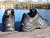 Ботинки зимние мужские черные Adidas climaproof нат. кожа реплика, фото 2