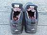 Ботинки зимние мужские черные Adidas climaproof нат. кожа реплика, фото 4