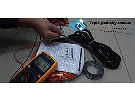 Двожильний кабель Фенікс ( 2.4 м. кв ) Униерсальность нагрівального кабелю (укладання під плитку і стяжку).