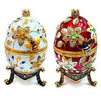 Шкатулка-яйцо в подарок женщине