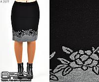 Шерстяная юбка    (размеры 44-52)  0128-27, фото 1