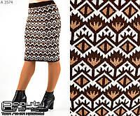 Шерстяная юбка    (размеры 44-52)  0128-29
