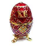 Шкатулка со стразами в виде яйца, фото 3