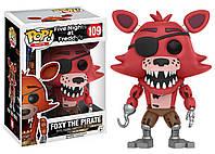 Фигурки 5 пять ночей с Фредди Пират Фокси Funko POP Games Five Nights at Freddy's аналог