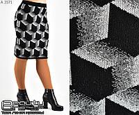 Шерстяная юбка    (размеры 44-50)  0128-32