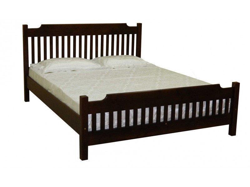 Ліжко півтораспальне в спальню, дитячу з натурального дерева Л-212 Скіф