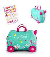 Детский чемоданчик на колесиках Trunki фея Flora (TRU-0324), фото 1