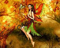 Схема для вышивки бисером «Прекрасная фея»