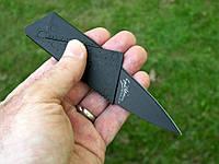 Нож- кредитка