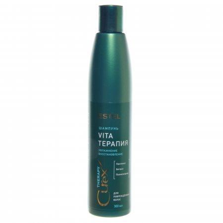 """Шампунь для сухих, ослабленных и поврежденных волос """"Терапия"""" Estel Professional Curex Vita Therapy Shampoo"""