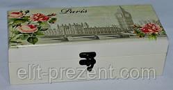 Коробка для хранения чайных пакетиков