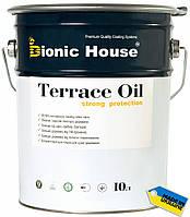Масло для террас Terrace Oil Bionic-house 10л серый