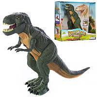 Динозавр 27см,ходит,звук,свет,на бат-ке