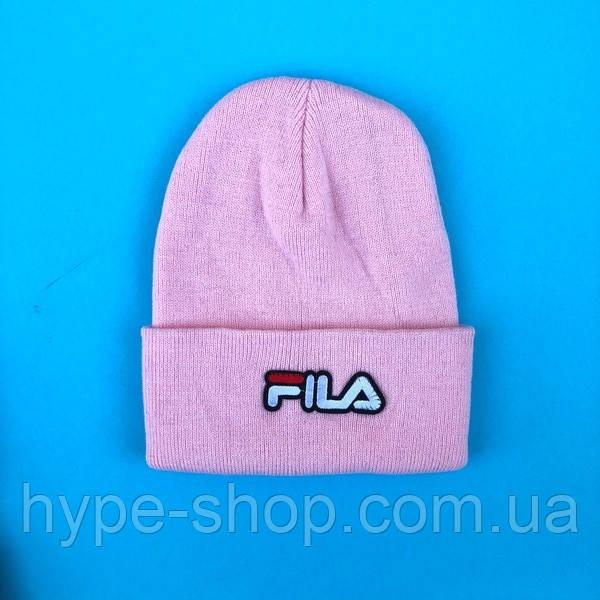 Зимняя шапка в стиле Fila | Топ качество!