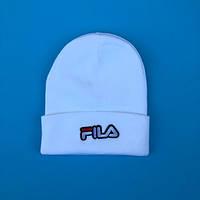 Зимняя шапка в стиле Fila   Топ качество!