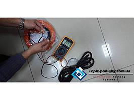 Нагревательные секции двухжильного кабеля 5.7 м.кв 1000 вт в клеевой раствор или самовыравнивающую смесь