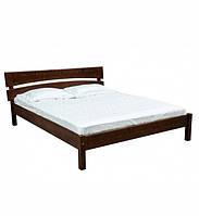 Ліжко півтораспальне в спальню, дитячу з натурального дерева Л-214 Скіф, фото 1
