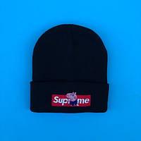 Зимняя шапка в стиле Supreme | Топ качество!