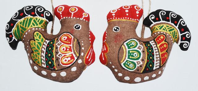 новогодний сувенир Петушок. 0987555561