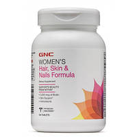 GNC Womens Hair, Skin & Nails Formula, 120 каплет