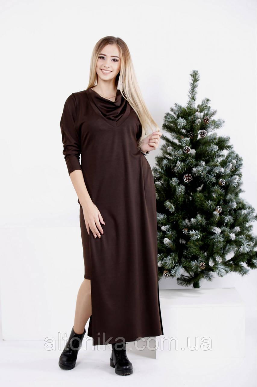 Платье и накидка в пол - комплект   42-74